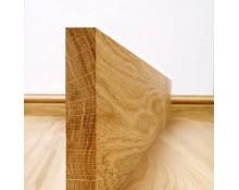Plinthe Chêne Massif 20x80 Bord Droit  - Qualité Premium