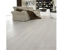 Parquet Chêne Contrecollé Vernis Blanc de Blanc 15x190 - Qualité Premium