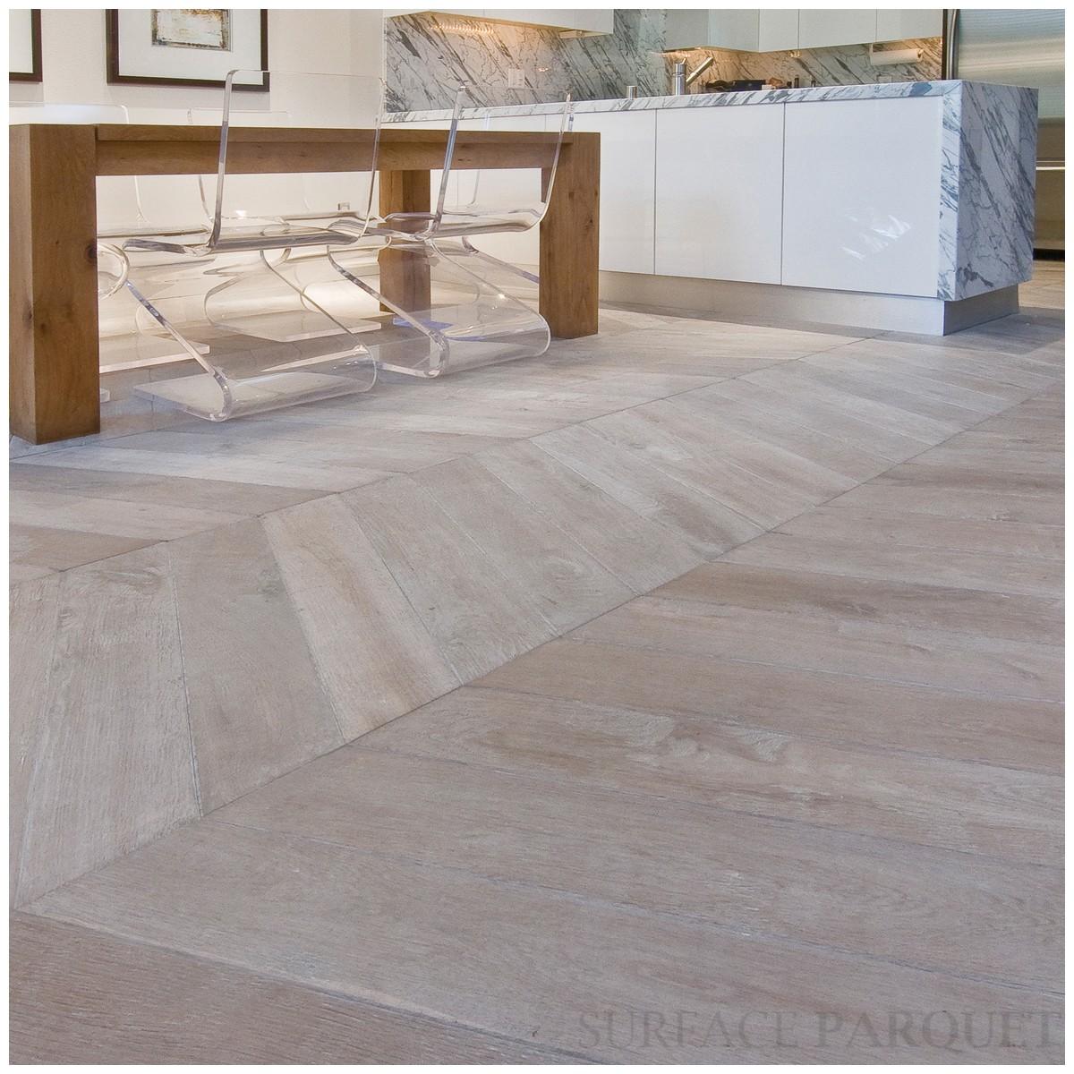 Angle De Plinthe Parquet parquet point de hongrie - chêne old grey 20x100 premium
