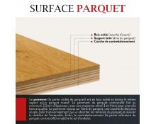 Parquet Chêne Contrecollé Fumé Huilé Gris Granite 15x190 - Qualité Rustique