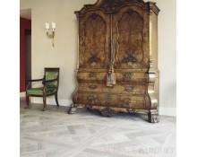Dalle de Versailles Chêne Massif Huilé Old White 690x690 - Qualité Rustique