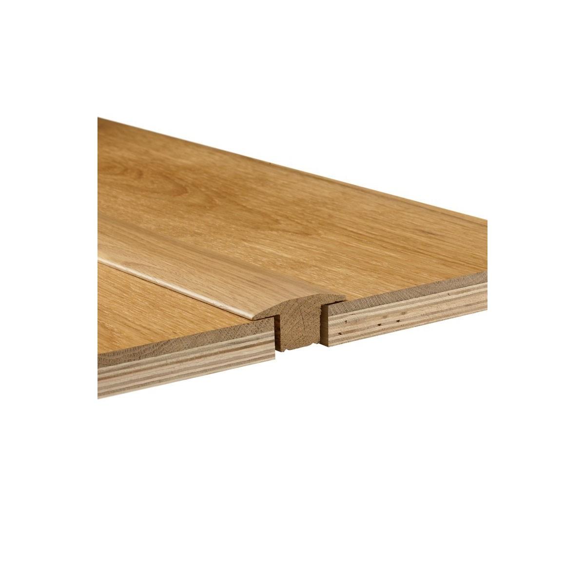 Seuil de Jonction MDF Placage Chêne Naturel 18x50 - Qualité Premium