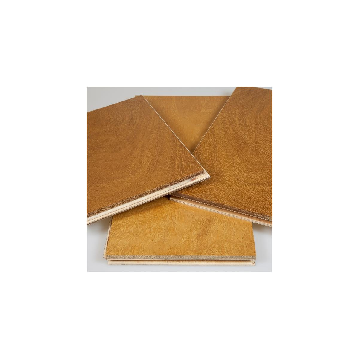 Vente parquet iroko contrecoll huil 16x140 qualit premium - Collection exclusive bois ...